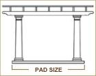 Pad Size